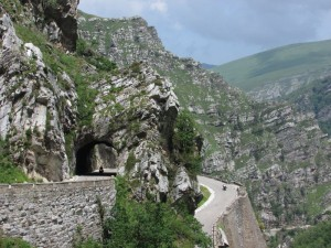 Northern Spain Motorcycle Mountain pass