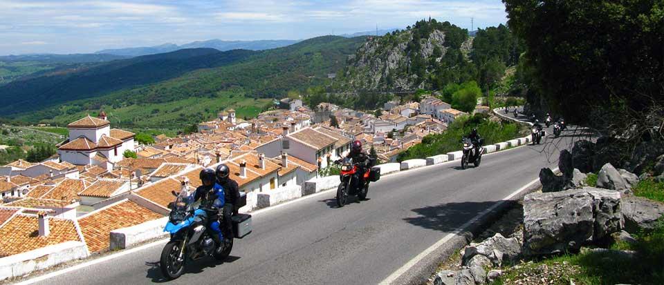 Viajes y rutas en moto por andalucia sur de espa a - Ruta por andalucia ...